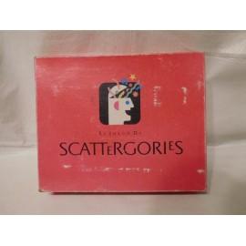 Juego Scattergories de MB 1989. El primero que se editó en España.