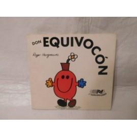 Tebeo cuento Don Equivocon. Colección Los Señordones. Ed. Novaro. 1976. Roger Hargreaves.
