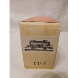 Vagón gran cisterna Alcoholera ref. 1600, Electrotren HO, años 60. Perfecto estado con su caja.