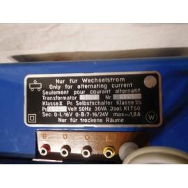 Transformador Marklin ref.6114 110V en su caja original