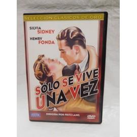 DVD Solo se vive una vez. Fritz Lang. 1937. Cine Negro.