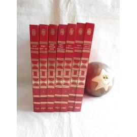 Enciclopedía Básica Juvenil Dime... Argos. 7 tomos. 1970. 1ª edición. Ref 1. Dífícil.