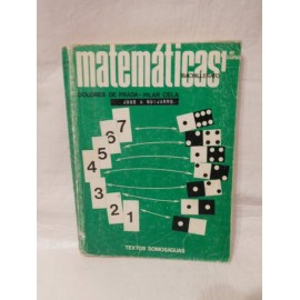 Libro de texto Matemáticas 1º Bachillerato. Somosaguas. 1970.
