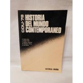 Libro de texto Historia del Mundo Contemporaneo. Cou 78. Editorial Bruño.