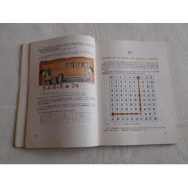 Libro de Texto, Matemáticas 1º. SM. 1969