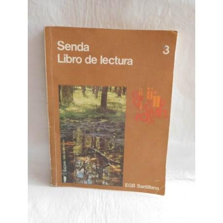Libro de Texto, Libro de Lectura. Senda 3º. Santillana. EGB. 1972. El libro de Pandora.