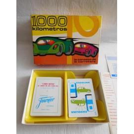 Juego de cartas ed. Fournier 1000 kilometros, el juego de los 1000 km. En caja con instrucciones