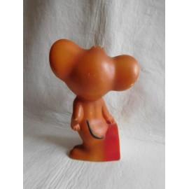 Muñeco en goma fabricado por Famosa del ratón Jerry. Años 60.