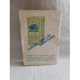 Manual de Reposteria Maizena. 50 recetas culinarias. Antiguo.
