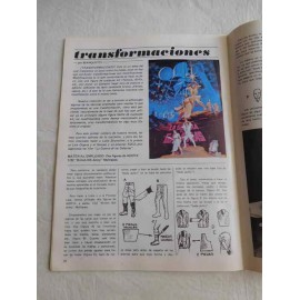 Revista Maqueta ejermplar nº0. Como transformar maqueta Airfix en personajes Stars Wars.