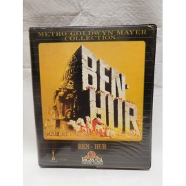 Edición en VHS de Ben Hur doble cinta 1983 MGM Collection