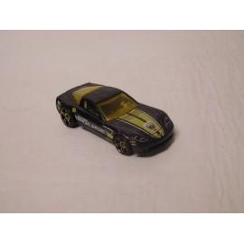 Coche Mattel C6 Corvette. Police.