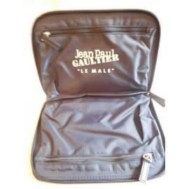 Neceser doble de viaje Jean Paul Gaultier. Le Male. Nuevo.