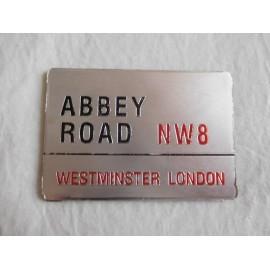 Iman para nevera Abbey Road NW8 The Beatles