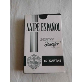 Baraja de cartas española Fournier Caja Madrid.