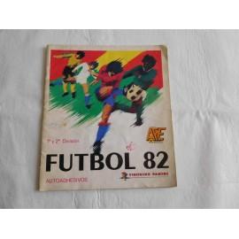 Álbum Futbol 82. Editorial Panini. Primera y segunda división.