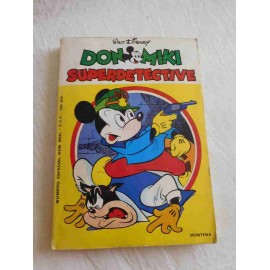 Tebeo Don Miki número especial Superdetective. Difícil.