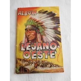 Álbum de cromos Lejano Oeste Ediciones Generales Revista Paseo.