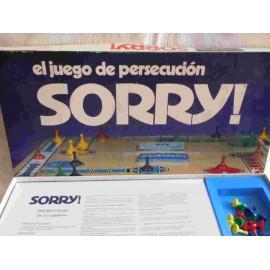 Juego de mesa Borras Sorry. El juego de persecución.
