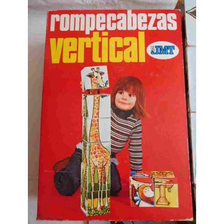 Juego Rompecabezas Vertical JMT. Años 70.