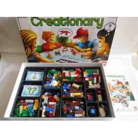 Creationary de Lego. Descatalogado. Completo y en perfecto estado.