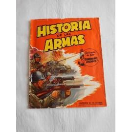 Álbum Historia de las Armas. Editorial Crisol.