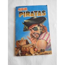 Álbum de cromos Piratas. Ediciones Generales. Revista Paseo.