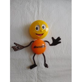 Muñeco promocional Lacasitos. Figura premium Lacasitos.