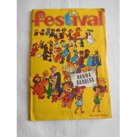 Álbum de cromos Festival de Hanna Barbera. Editorial Fher. 1971. 1ª edición.