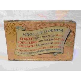 Libreta publicidad Bodegas franco - españolas. Logroño, Rioja. Principios del siglo XX.