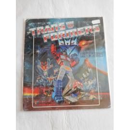 Albúm Transformers. Editado por Panini. Años 80-90.