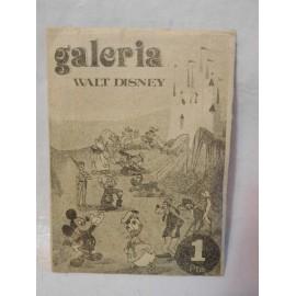 Sobre de cromos Galeria Walt Disney. Editorial Fher. Años 70.