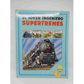 Libro Plesa Colección Joven Ingeniero. Supertrenes