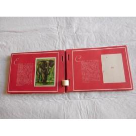 Álbum de cromos Los Animales. Colección Recreo.