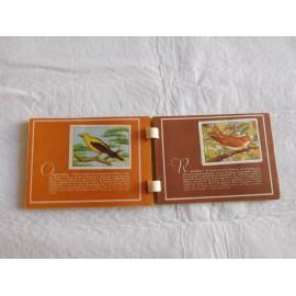 Álbum de cromos Las Aves. Colección Recreo.