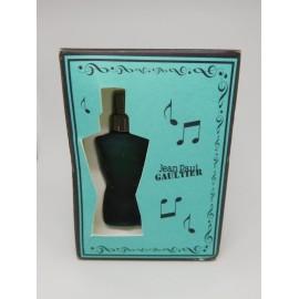 Miniatura caja musical de Fleur du Male Jean Paul Gaultier en caja original.