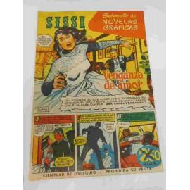 Suplemento de Novelas Gráficas Sissi. Tebeo Sissi. Nº1. Rory Calhoun.