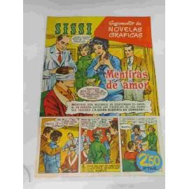 Suplemento de Novelas Gráficas Sissi. Tebeo Sissi. Nº7. Vittorio Gassman.