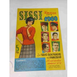 Tebeo extra de verano 1960. Sissi. 5pts.