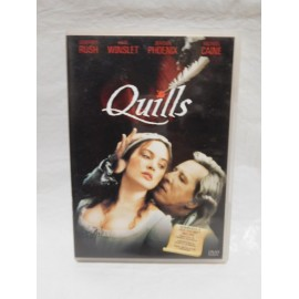 DVD Quills. Año 2000. Drama