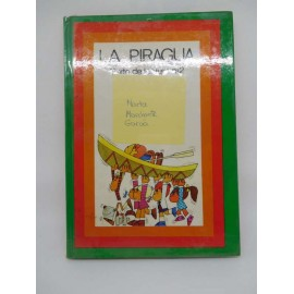 ibro Santillana. Saeta. La Piragua. Texto de lectura nº2. Dibujos José Ramón Sánchez.