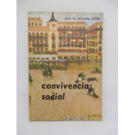 Libro de Texto Convivencia Social. Ed. Doncel. Año 1965.