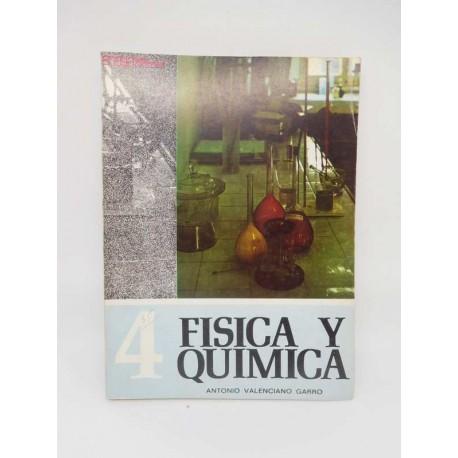 Libro de Texto, Física y Química. Antonio Valenciano Garro. 4º Curso.