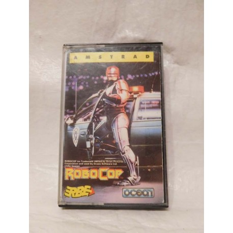 Juego Amstrad Robocop