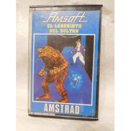 Juego Amstrad El Laberinto del Sultan