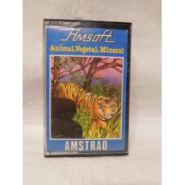 Juego Amstrad Animal, Vegetal, Mineral.