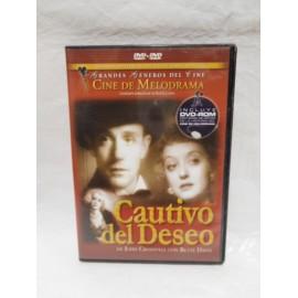 DVD Cautivo del Deseo. 1934. Drama.