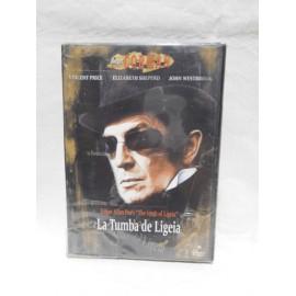 DVD La Tumba de Ligeia. Año 1964. Terror.