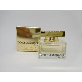 Miniatura Dolce Gabbana The One. Edp. 5 ml.