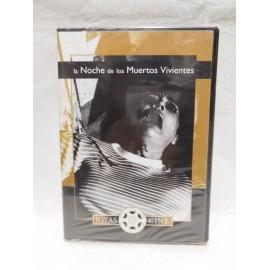 DVD La Noche de los Muertos Vivientes. 1968. Terror.